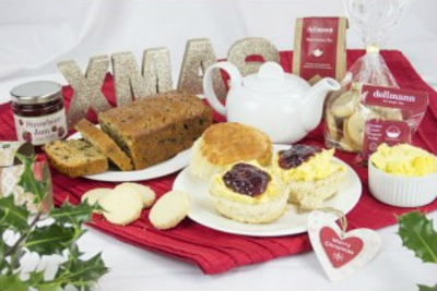 A Traditional Devonshire Christmas Tea from Delimann!
