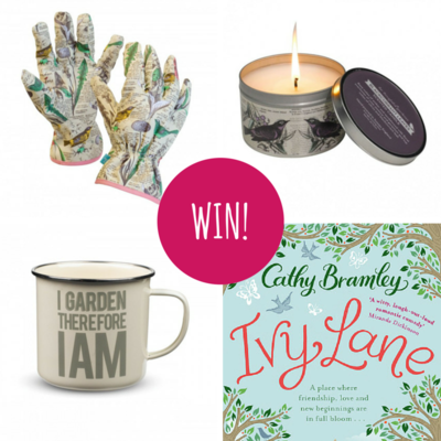 Win! A Gorgeous Garden-Themed Bundle with The Novelicious Book Club's February Pick – Ivy Lane by Cathy Bramley!