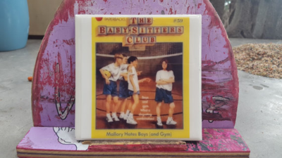 Tile Babysitters Club Coasters