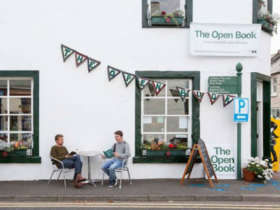 The Open Book Shop in Scotland