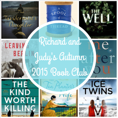 Richard and Judy Autumn 2015 Book Club