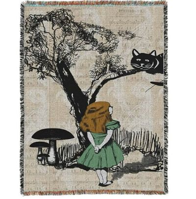 Alice in wonderland rug