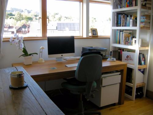 Sanjida's writing room