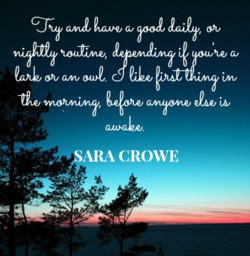 Sara Crowe's Top 5 Writing Tips