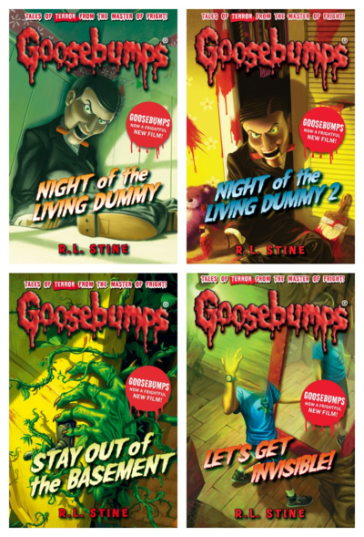 Win A Set Of Goosebumps Books