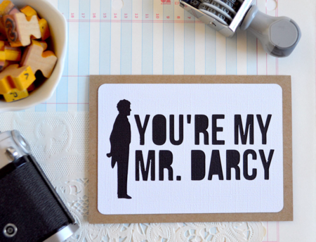 You're My Mr. Darcy