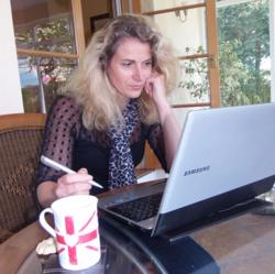 Caroline Writing
